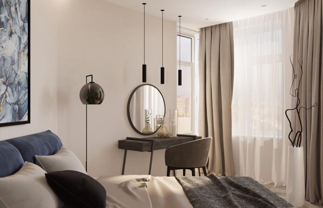 Дизайн інтерєру квартири в ЖК