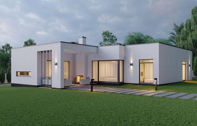 Проект частного дома в ЖМ