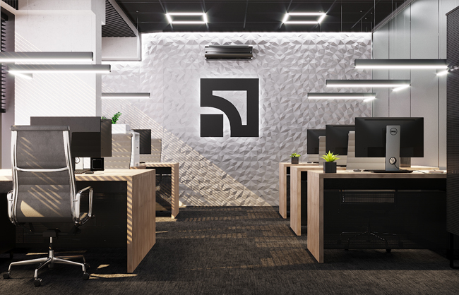 Дизайн-проект интерьера отделения банка