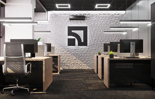 Дизайн-проект інтер'єру відділення банку