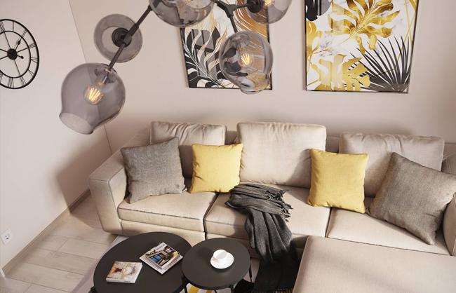 Дизайн інтерєру квартири в м.Старокостянтинів