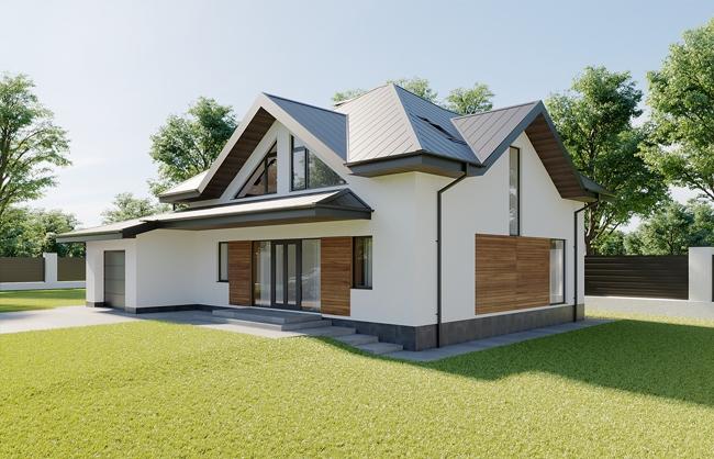 Проект приватного будинку в м.Красилів