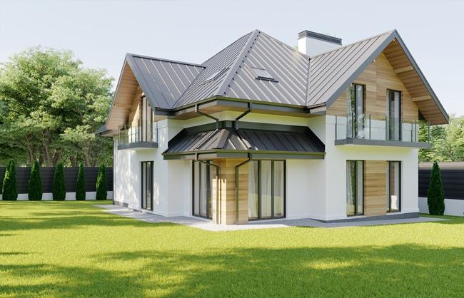 Архитекторное проектирование дома по проул. Дубовскому