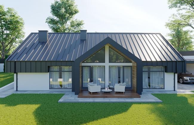 Проект частного дома по ул. Зоряна