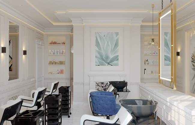 Дизайн салону краси