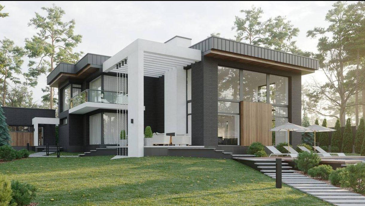 Проект частного дома по ул. Альфреда Нобеля