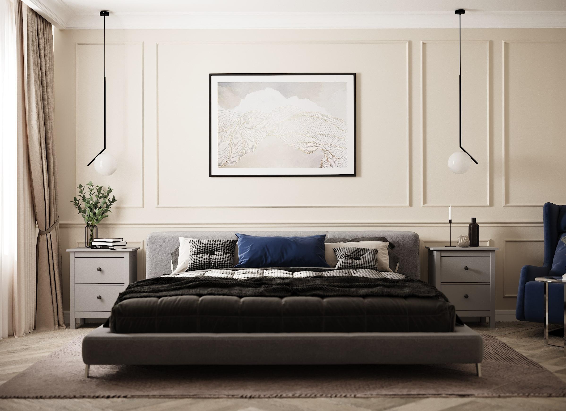 Дизайн интерьера шоурума постельного белья