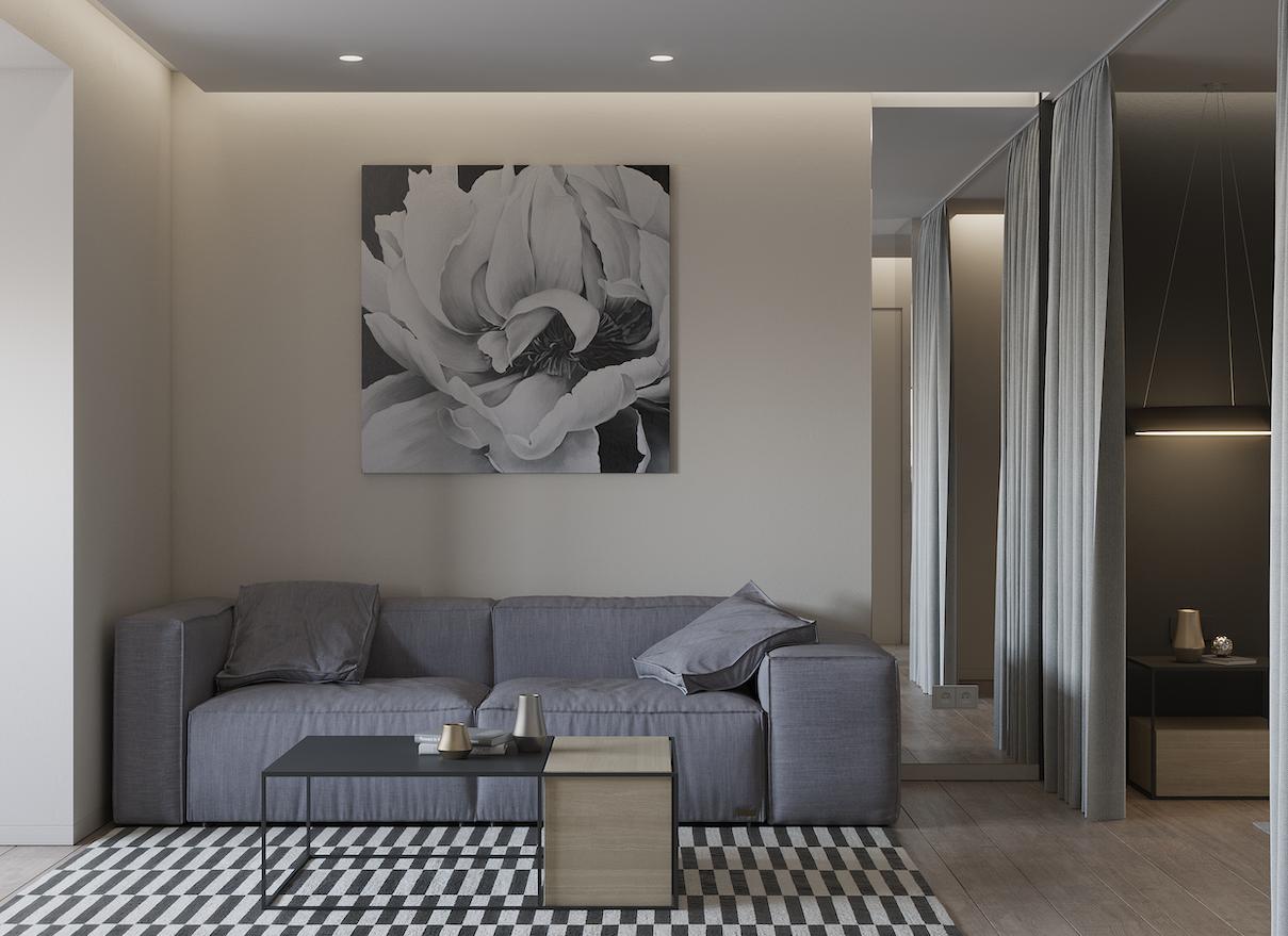 Дизайн інтер'єру квартири в ЖК «Нова Лінія»
