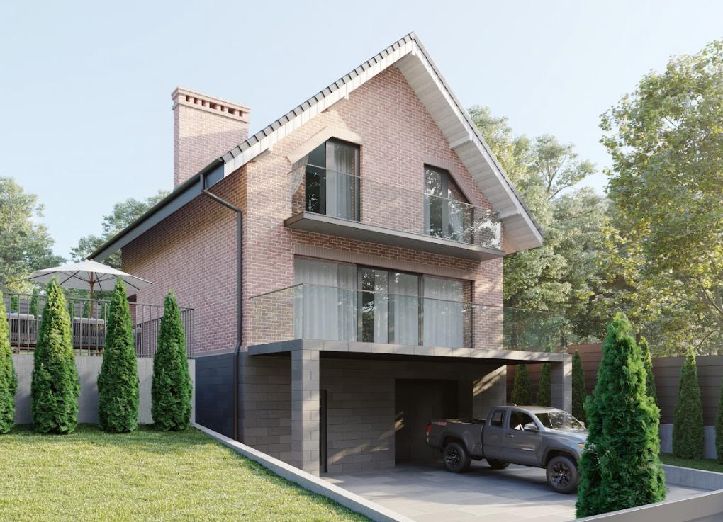 Проект частного дома по ул. Яровая