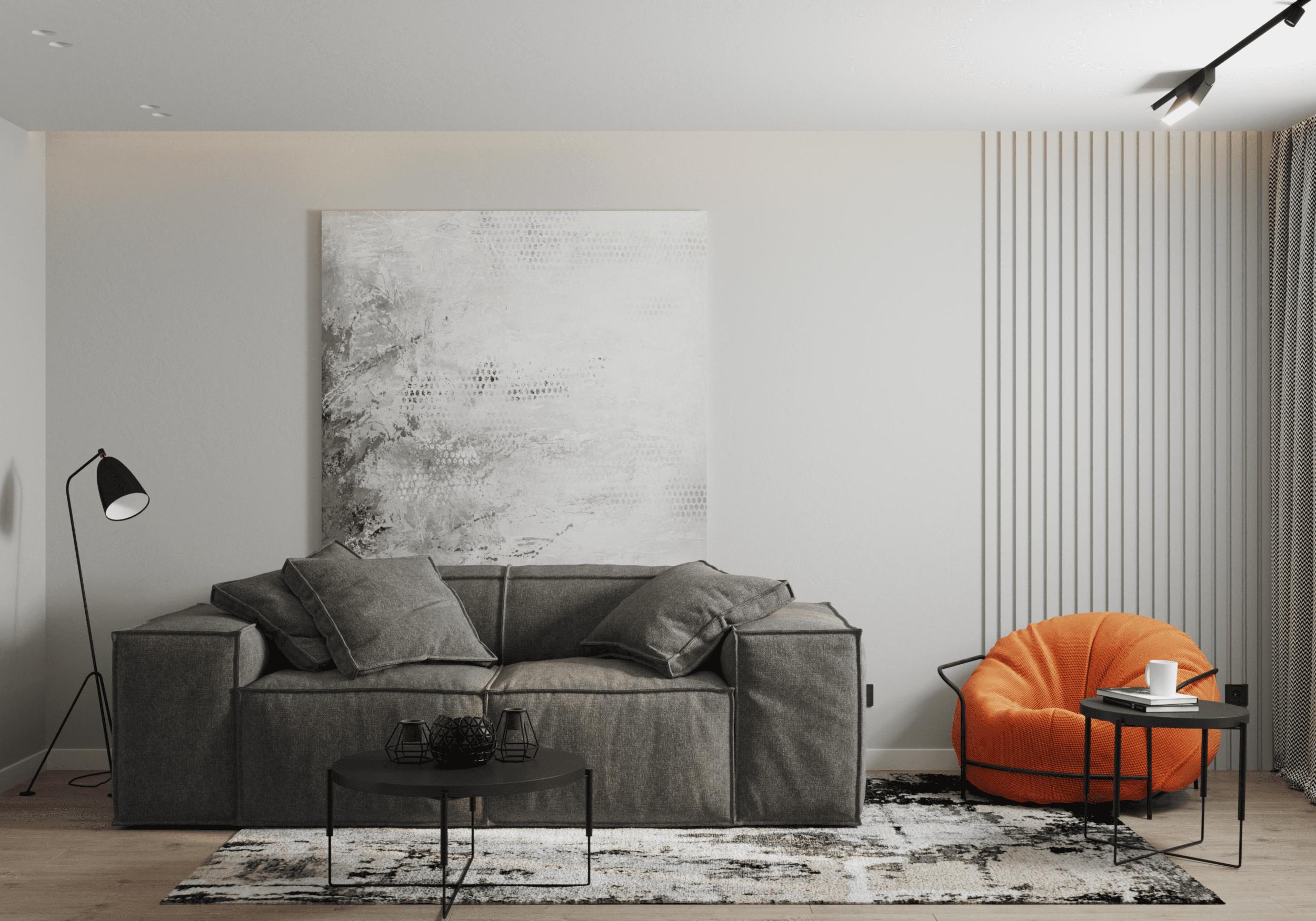 Дизайн інтер'єру квартири по вул. Будівельників
