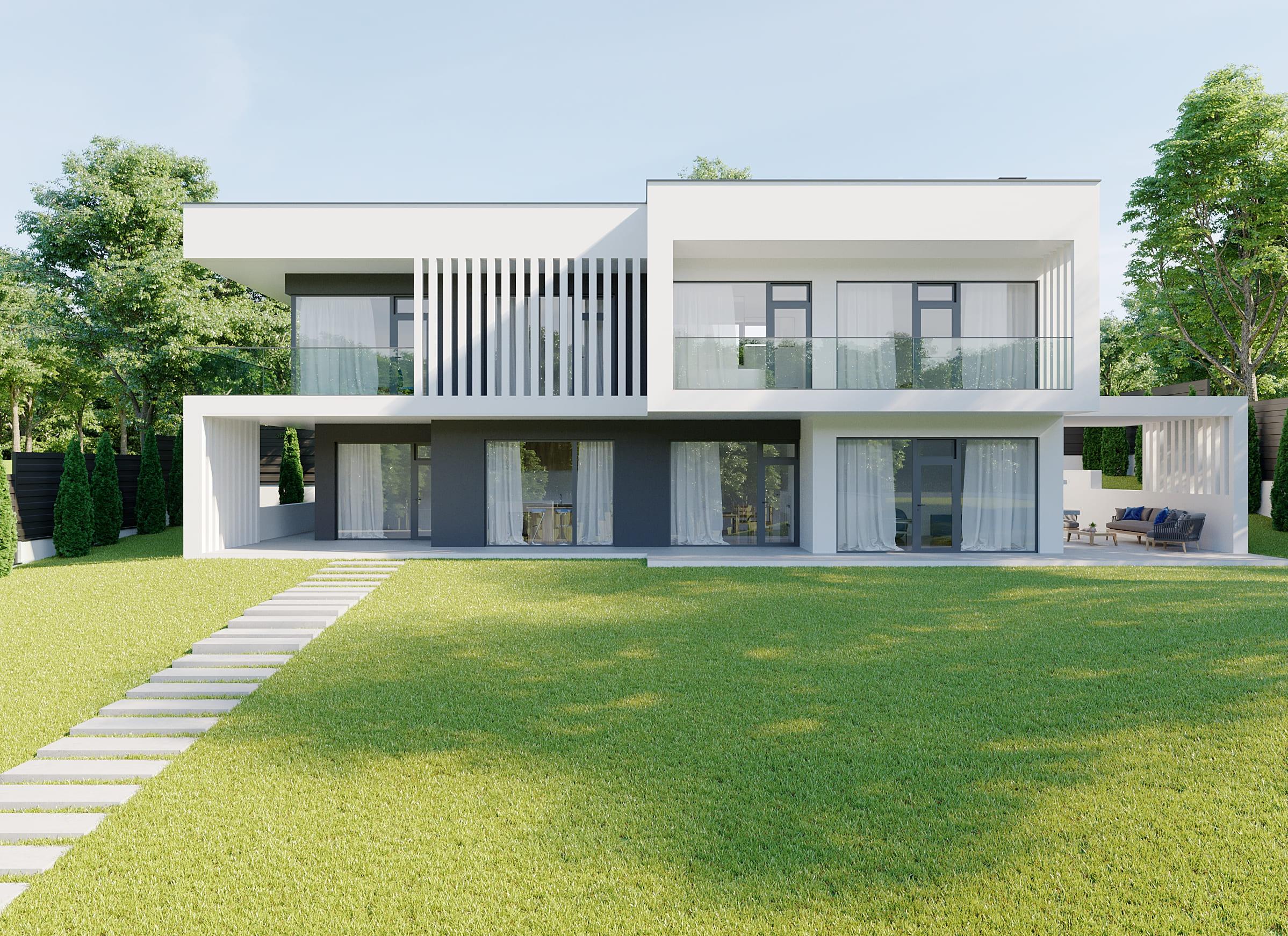 Проект приватного будинку в ЖМ